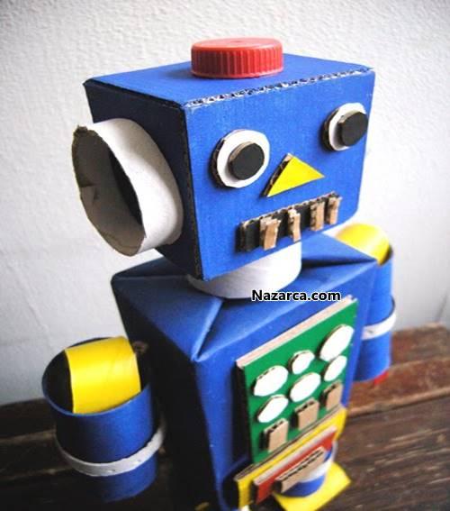 Сделать робота из картона своими руками 889