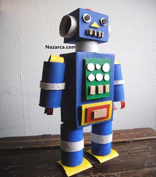 Сделать робота из картона своими руками 948