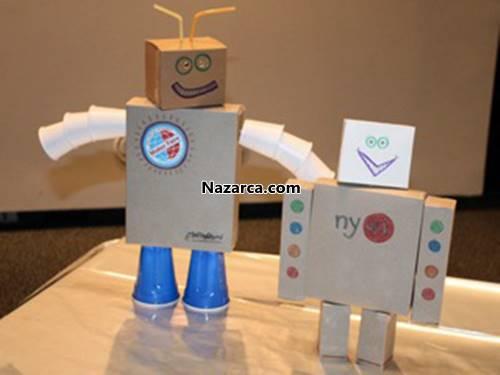 Как сделать робота из картона своими руками видео
