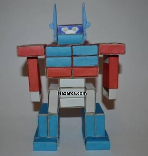 Сделать робота из картона своими руками 485