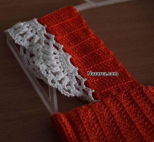 tigla-orulen-turuncu-beyaz-yazlik-orgu-bebek-elsbisesi-4