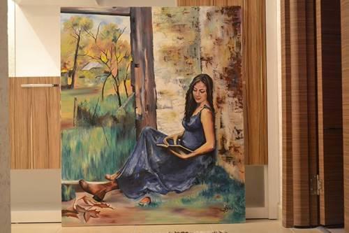 yaglı boya resim satisi