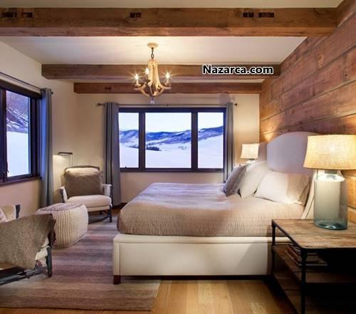 doga-manzarali-ahsap-ev-dekorasyonu-yatak-odalari