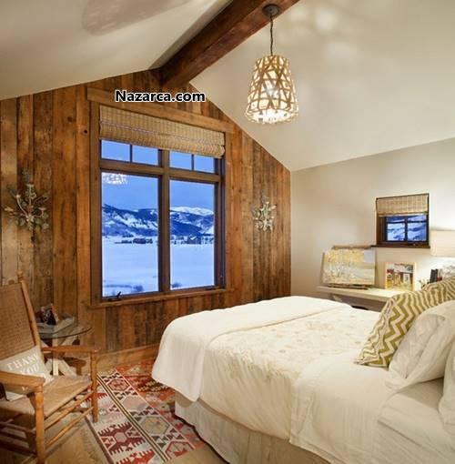 doga-manzarali-ahsap-ev-dekorasyonu-yatak-odasi