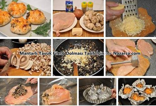 mantar-harcli-firinda-tavuk-fileto-bogca-dolması