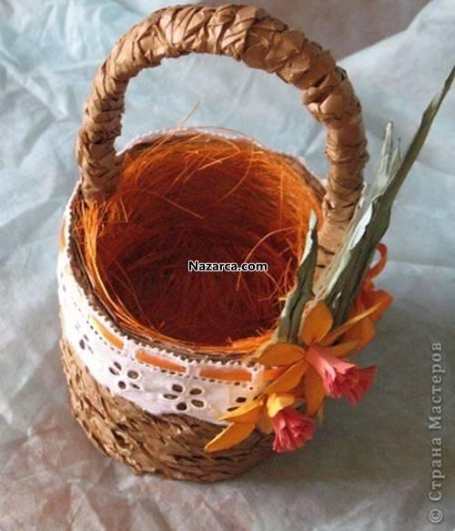oluklu-kartondan-sapli-dekoratif-sepet-yapilisi-8