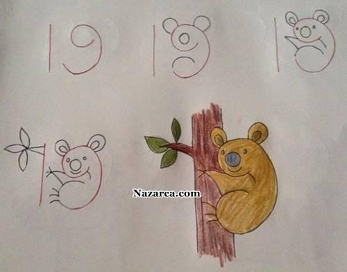 19-dan-ondokuzdan-koala-nasil-cizilir
