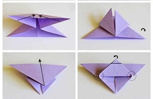 fon-kartonundan-3d-origami-kelebek-2