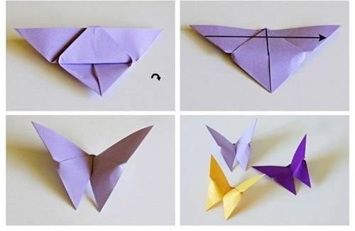 fon-kartonundan-3d-origami-kelebek-3