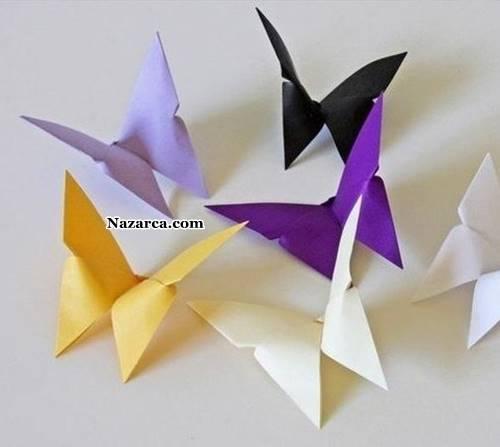 fon-kartonundan-3d-origami-kelebek
