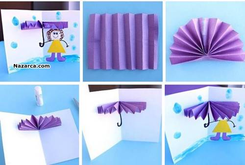 how to make a simple pop up book for kids