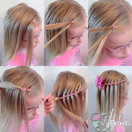 Причёски легкие для детей