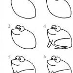 kurbaga-karikaturu-resmi-nasil-cizilir