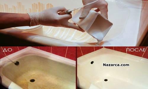 ev-yapimi-deterjan-ile-lavabolar-kuvetler-bembeyaz