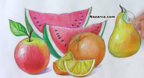 Meyveler Nasil çizilir Videolu Ders Nazarcacom