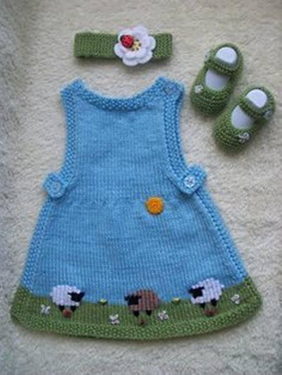 orgu-bantli-patikli-kiz-bebek-elbiseleri