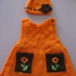 orgu-bereli-cepli-turuncu-omuzdan-dugmeli-bebek-elbisesi