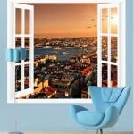 pencere-resimli-istanbul-duvar-posteri