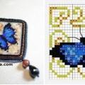 etamin-ustune-boncuklardan-kelebek-yapilisi