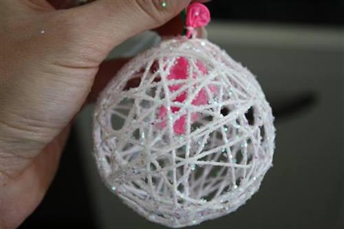 Dekoratif süs top nasıl yapılır?
