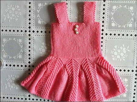 orgu-pembe-askili-kolay-yazlik-bebek-elbisesi