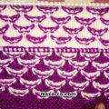 Easy-Two -Color -Knitting-renkli-dalgalar-orgu