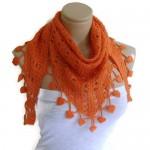 el-isi-dantel-orgu-turuncu-orange-sal-modeli