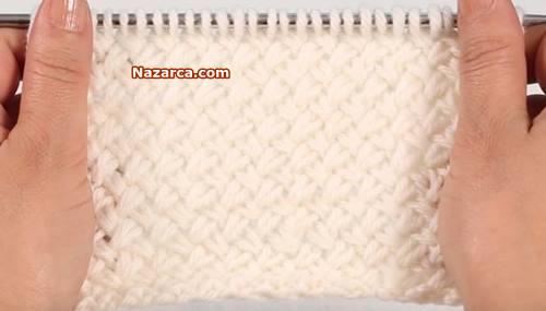hasirli-orgu-modeli-video