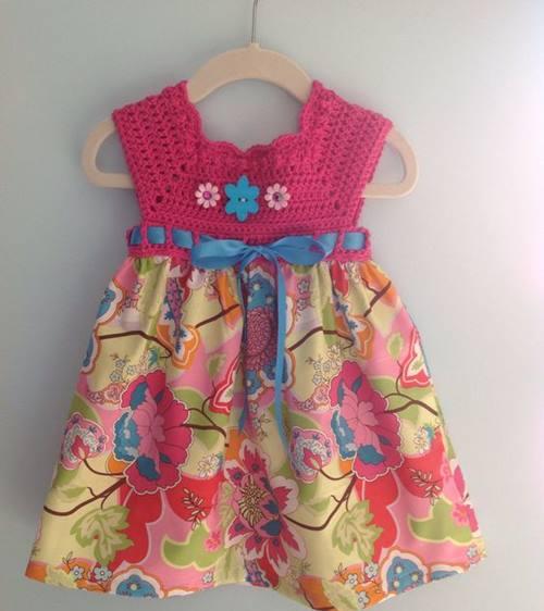 3 Yaş Badem Örnekli Kız Çocuk Elbisesi Yapılışı Anlatımlı Videolu