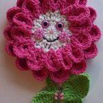 Crochet-Pink-Flower