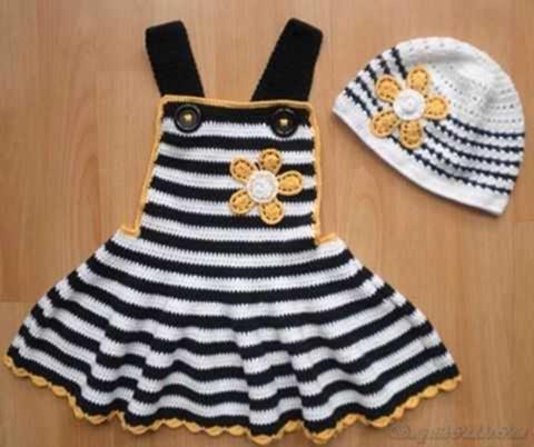 cizgili-orme-askili-kiz-cocuk-elbise