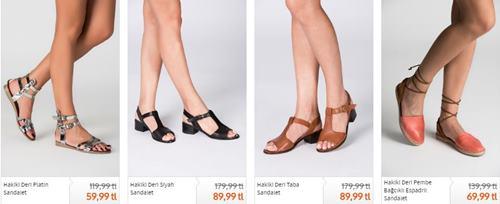 duz-deri-kadin-sandaletler