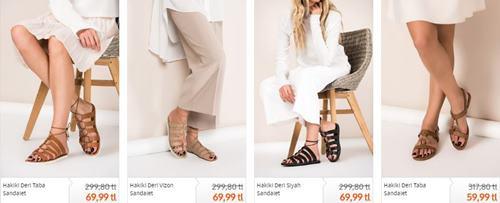 elle-bayan-duz-bantli-sandalet-ayakkabilar