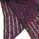 Beaded-Bias-Towards -Lace Scarf