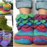 Crochet-Slipper-Boots