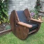 DIY-Cable-Drum-Rocking-Chair