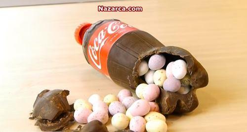 Coca Cola Şişesi Çikolata