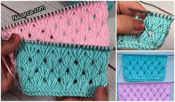 grass- knitting- stitch