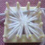 kare-motif-aparati-beyaz-sal-yapilisi