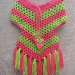crochet-pancho