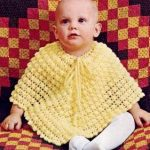knitted-childrens-poncho