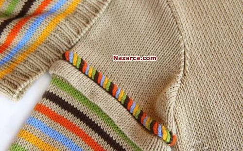 kazak-kolunda-dikis-ustu-renkli-zincir