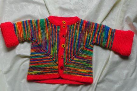 orgu-bebek-renkli-supriz-ceket