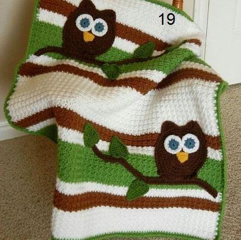 baykus-motifli-beyazli-battaniye