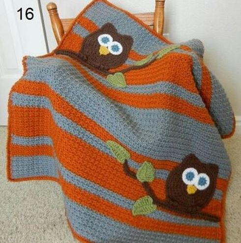 kiremit-rengi-baykuslu-bebek-battaniye