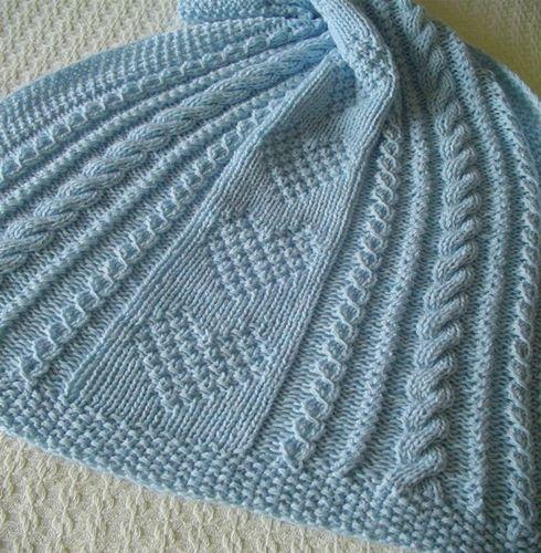 orgu-ornekli-mavi-cocuk-battaniye