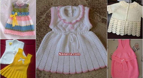 orgu-kiz-cocuk-yelekler-elbiseler