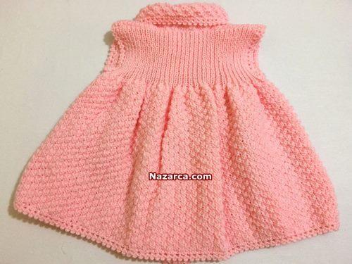 sisle-bebek-elbise-ormek