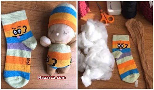 muz-corapla-oyuncak-basit-bebek-yapimi