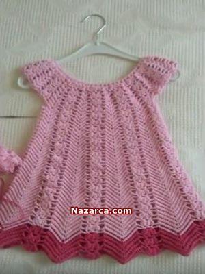 tig-isi-1-2-yas-bebek-orme-elbise-yapimi